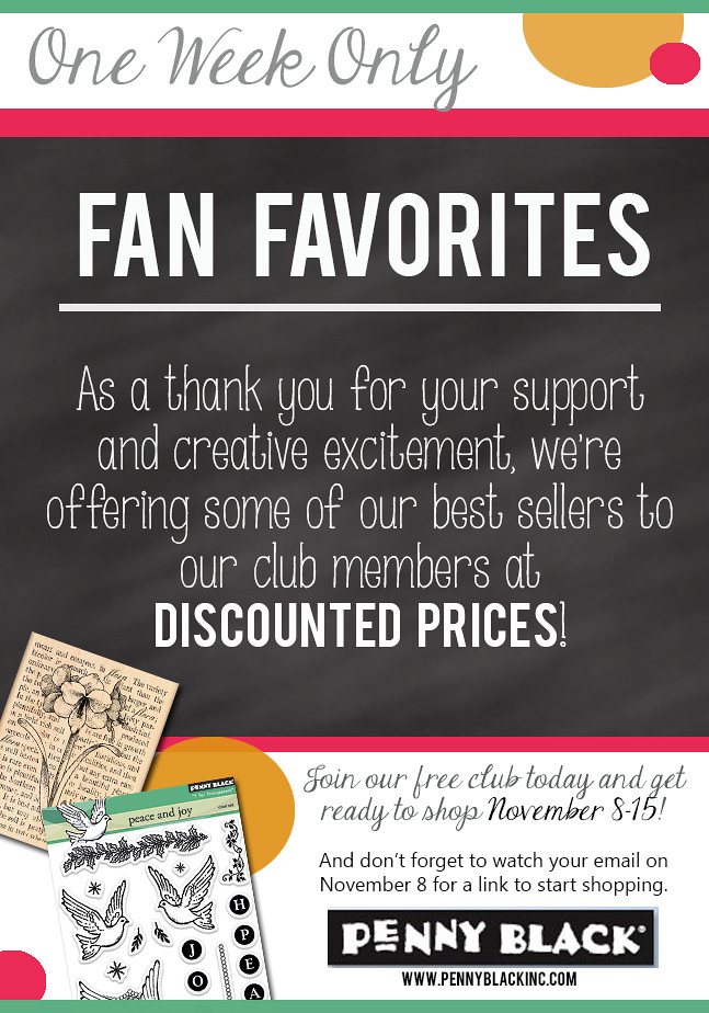 Penny Black Fan Favorites