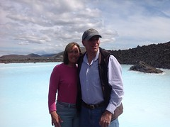 Outside Blue Lagoon