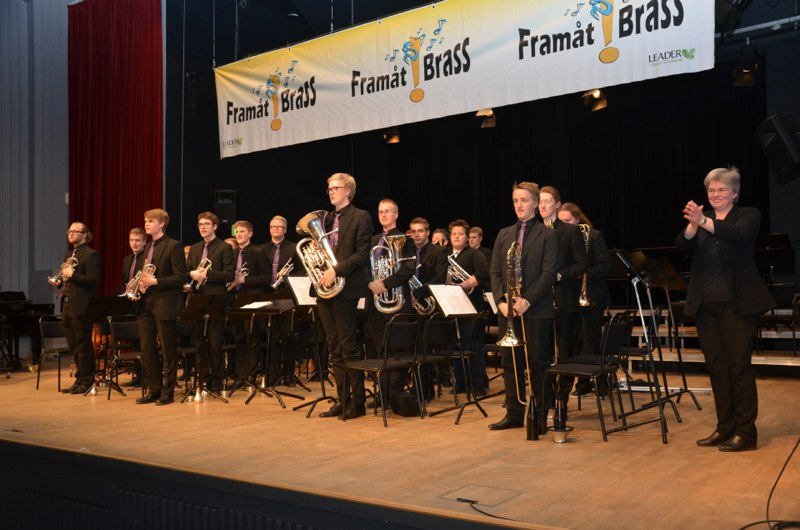 Lilla Brassbandfestivalen 2013 - SYBB - Swedish Youth Brass Band