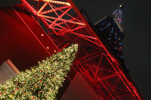 東京タワークリスマスイルミネーション点灯式2013