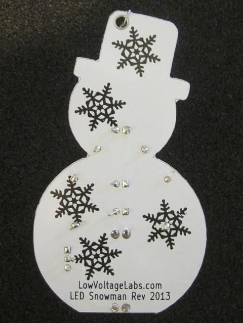 Snowman Kit PCB