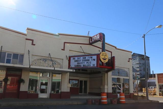 clayton new mexico luna theater movie theater union