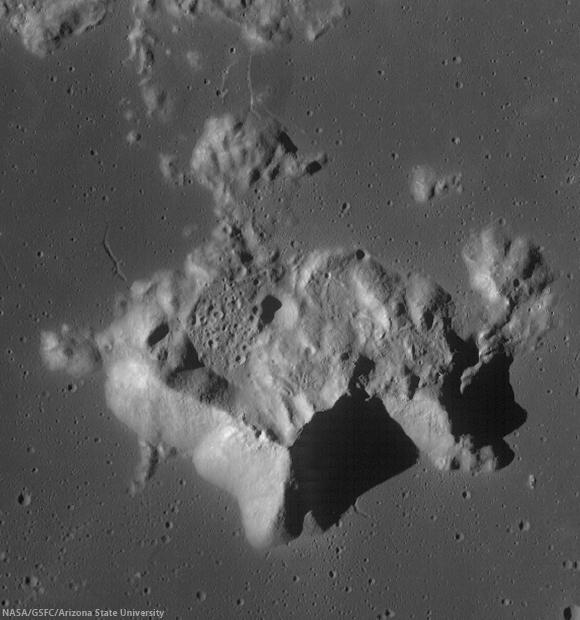 Tsiolkovskiy Crater