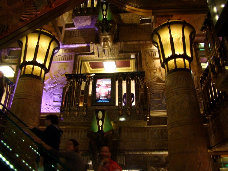 Harrods egyptian elevator