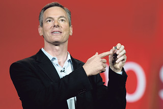 Qualcomm chief Paul Jacobs acknowledges the firm is growing slower, but points to opportunities in new technologies and markets.
