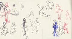 November 2013: Life Drawing Class