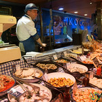 English Market, Seafood Vendor - Cork, Ireland