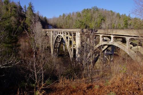 county nc henderson highbridge greenrivergorge abandonedbridge trusseddeckarch