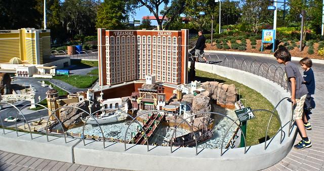 Legoland, Florida - treasure island las vegas