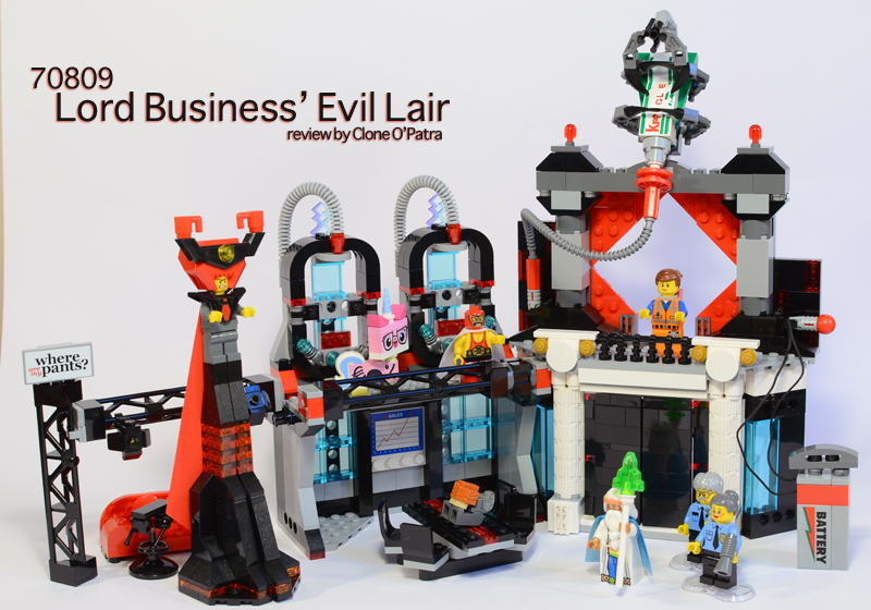 REVIEW: 70809 Lord Business' Evil Lair - Special LEGO Themes ...