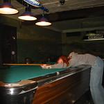 Pool shark at Club Soda