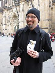 Eric has his photography permit!