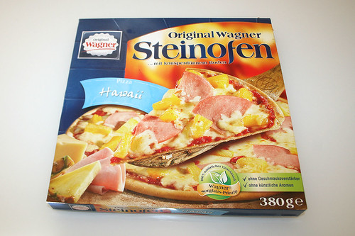 01 - Pizza Hawaii (Wagner Steinofen)  - Box front