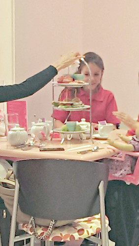 American Girl Cafe afternoon tea