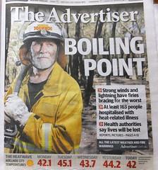 Gawler weather 17Jan2014 Advertiser newspaper (2)