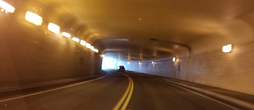 Light at the end of the tunnel, Bellevue, Washington, USA by Wonderlane