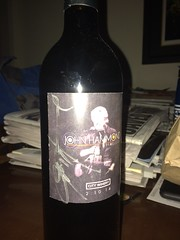 Wine signed by Hammond by Guzilla