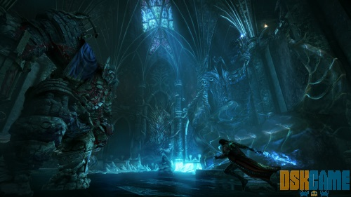 Jefe de Castlevania Lords of Shadow 2