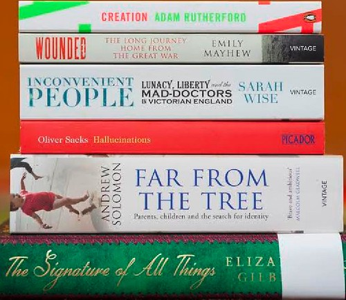 Wellcome Trust's Book Prize 2014 shortlist announced