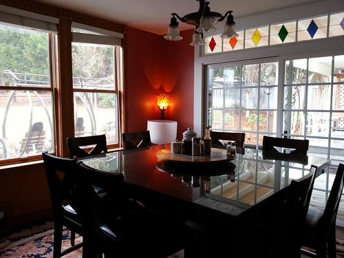 Dining Room at Shasta MountInn