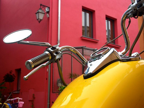 Moto à Trentemoult