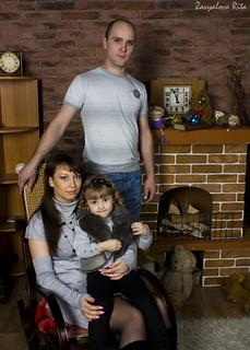 Фотогаллерея: Семейный фотосет