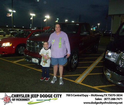 Happy Anniversary to Janice M Smith on your 2013 #Dodge #1500Qc from Bobby Crosby Bbby and everyone at Dodge City of McKinney! #Anniversary by Dodge City McKinney Texas