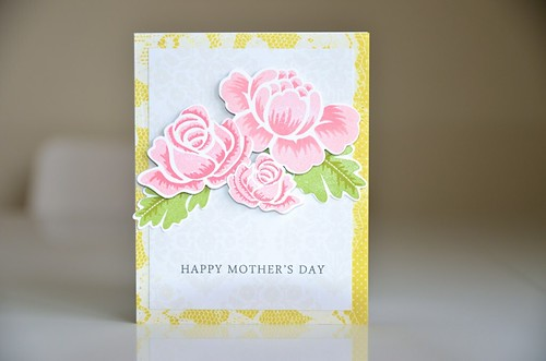 Rosie Posie - Mother's Day card by CloudsShadler