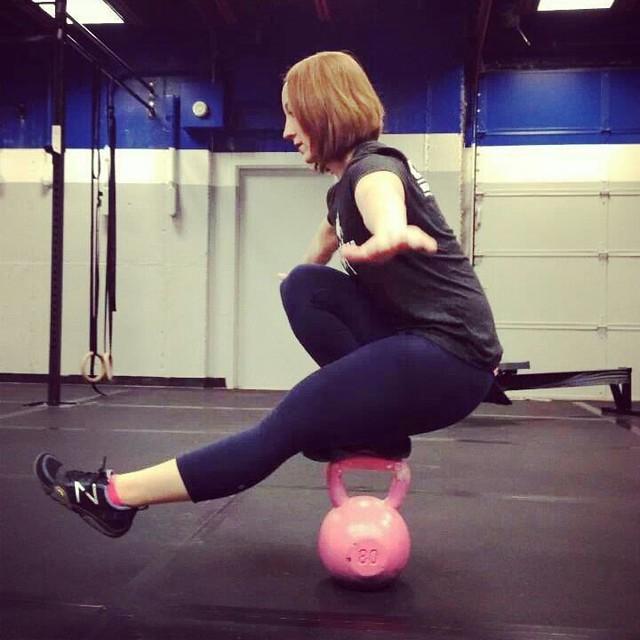 Jessica Kohler - CrossFit Fringe - KB Pistol