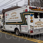 Bogota First Aid Squad Ambulance, 2014 Bergen County St. Patrick`s Day Parade, Bergenfield, New Jersey