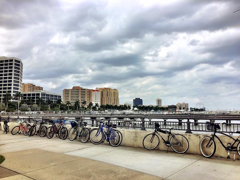 Palm Beach Boat Show bikes 2014