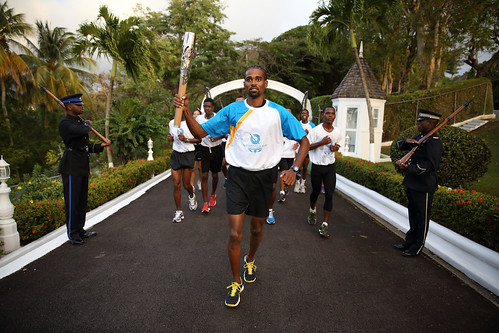 Day 159 of the The Glasgow 2014 Queen's Baton Relay in Saint Lucia