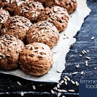 Lune glutenfri boghvedeboller til morgenmad