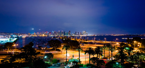 San Diego Night Sky
