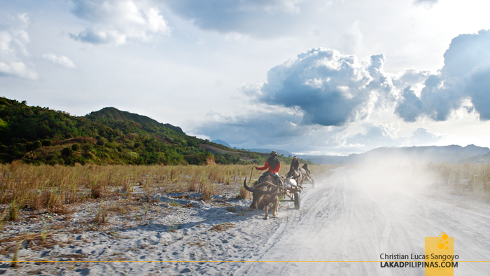 Dusty Ride Back from Mt. Pinatubo