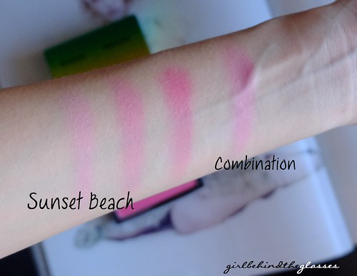 MAC Sunset Beach Blush swatch