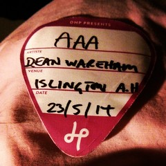 Just found this in my wallet, I never actually needed to show it to anyone #deanwareham #accessallareas