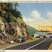 Grand View Ship Hotel, Approach to the Hotel, Lincoln Highway, West of Bedford, Pa. by Alan Mays