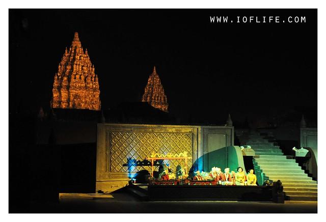 Ramayan ballet stage