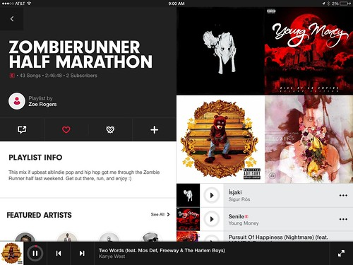 Play Zombierunner Half Marathon Playlist on Beats Music