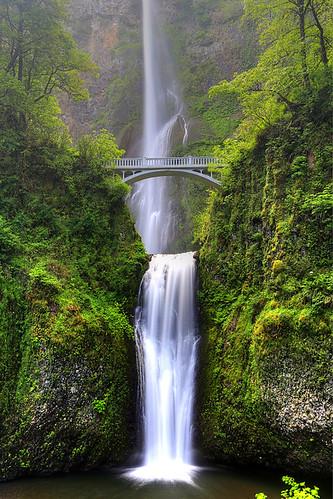 usa oregon portland waterfall or multnomah