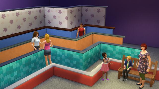 Sedia A Sdraio The Sims.The Sims 4 Arrivano Porte Bloccate E Muri A Mezza Altezza Con Un