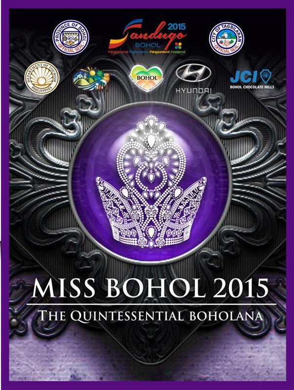Miss Bohol 2015 Official Poster
