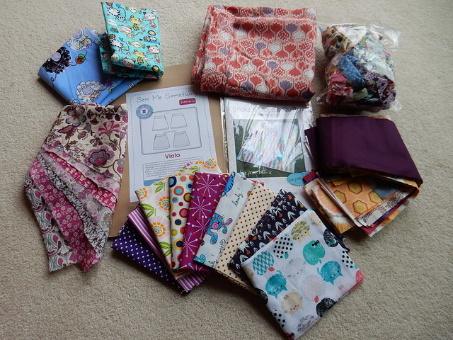 bounty from festival of quilts (1)