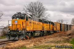 UP 302 | EMD GP38-2 | UP Memphis Subdivision