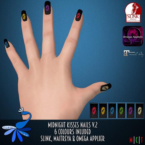 ZcZ Midnight Kisses Nails v2