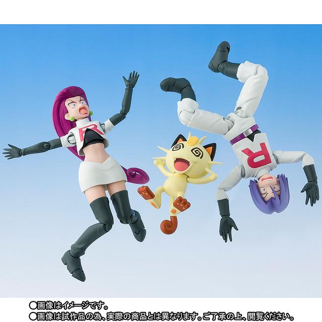 好討厭的感覺啊~~~~! S.H.Figuarts《精靈寶可夢》 小智&火箭隊 サトシ&ロケット団(Limited Edition)