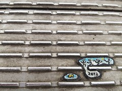 The art of chewing gum -millenium bridge London
