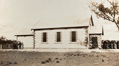 Red Banks Methodist Church Hall - side view at the  opening ceremony 29 - 7 - 34