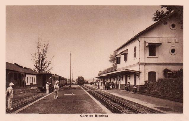 Biên Hoa - Gare de Bienhoa, 1953